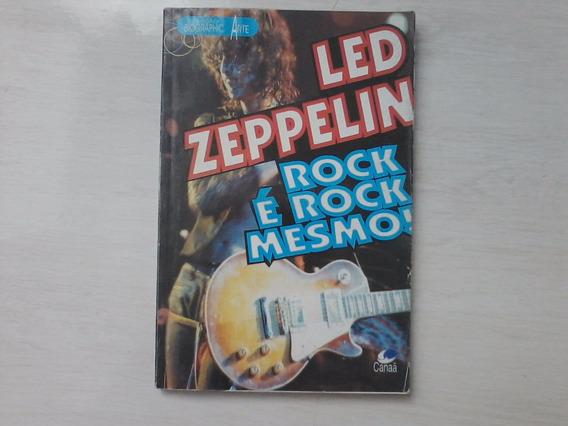 Led Zeppelin Rock É Rock Mesmo Livro