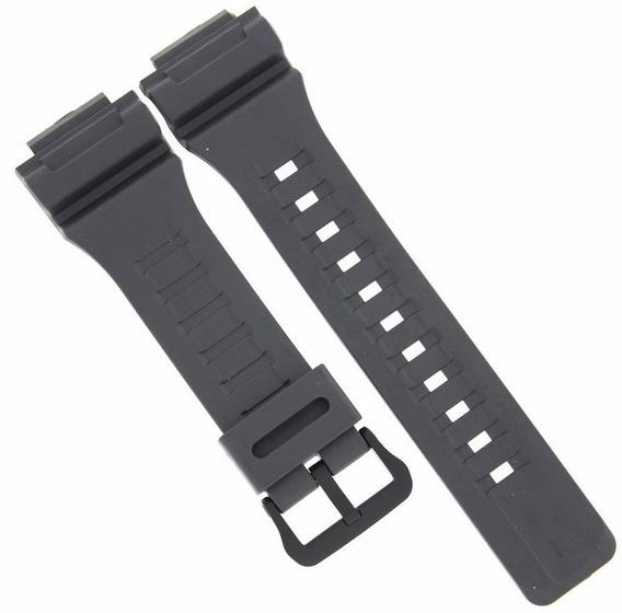 Pulseira Casio Aq-s810 Cinza Aq-s810w-8a P/ Relógio Touch