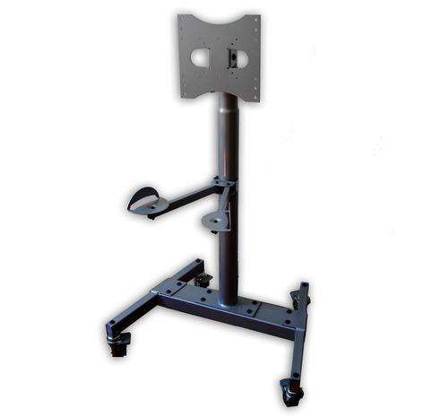 Soporte Piso Stand Tv Lcd 15 32 42 Movible Ruedas Exhibidor