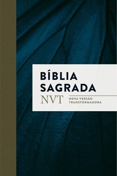 Bíblia Sagrada - Nvt - Mundo Cristão - Capa Flexível Azul