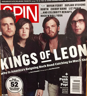 Kings Of Leon Revista Spin 2010 Importada