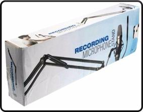 Pedestal Articulado Mesa Suporte Microfone Retratil - Id1983
