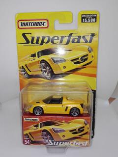 Perudiecast Matchbox Super Fast Opel Speedster Escala 1:64