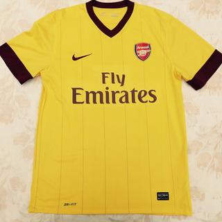 386824-749 Camisa Nike Arsenal Third 12/13 M Amarela Fn1608