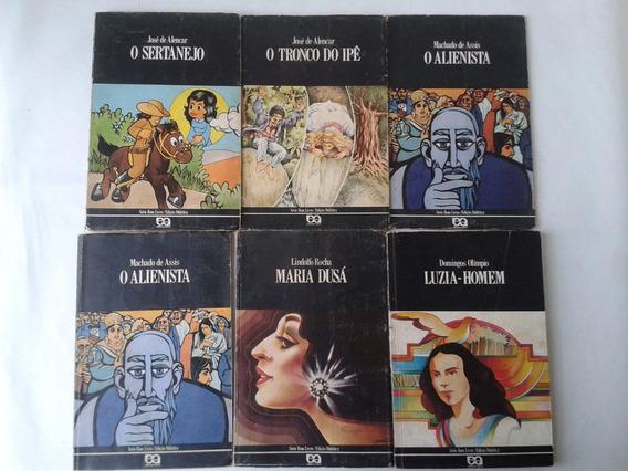 Livro Antigo Serie Bom Livro Editora Atica Ed Didatica -lote