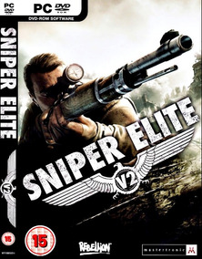 Sniper Elite V2 Pc - Dvd (midia Fisica) Off Line