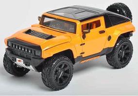 Miniatura Hummer Hx Concept All Stars Laranja Maisto 1/24
