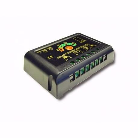 Controlador De Carga 20a 12-24v P/ Módulo -placa Solar