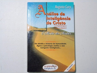 Livro Análise Da Inteligência De Cristo Augusto Cury