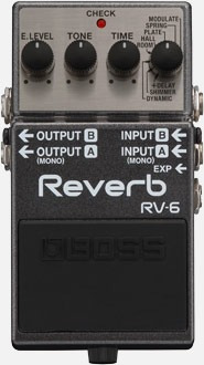 Pedal Boss Rv-6 Reverb Musical Store