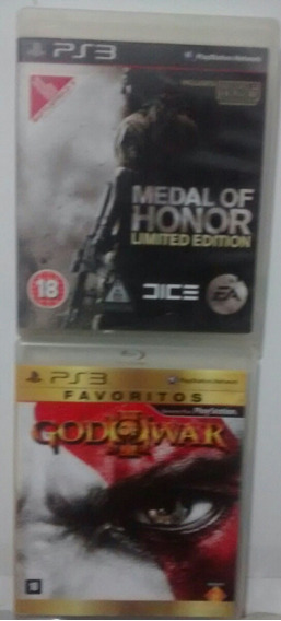 God Of War 3 E Medal Of Honor Incluso M Of Honor Frontline..
