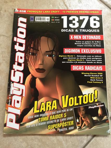 Revista Playstation Lara Croft Tomb Raider 5 Digimon World