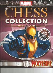 Mcc 03 Miniatura Wolverine Marvel Chess - Bonellihq K17