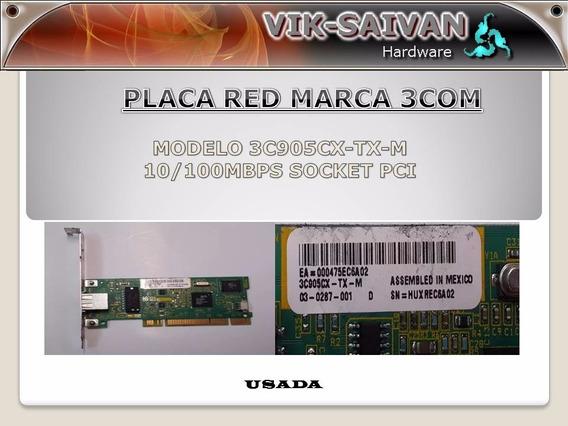 Placa De Red 3com 3c905cx-tx-m 10/100 Pci 53