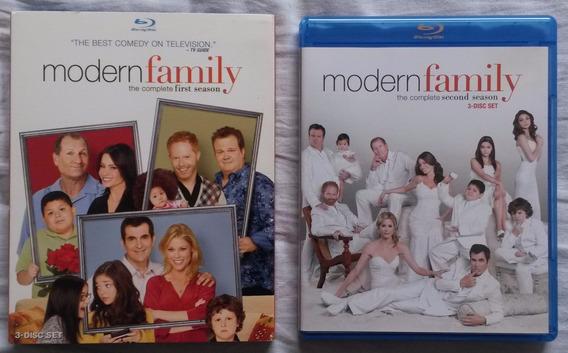 Bluray Modern Family 1ª E 2ª Temporadas