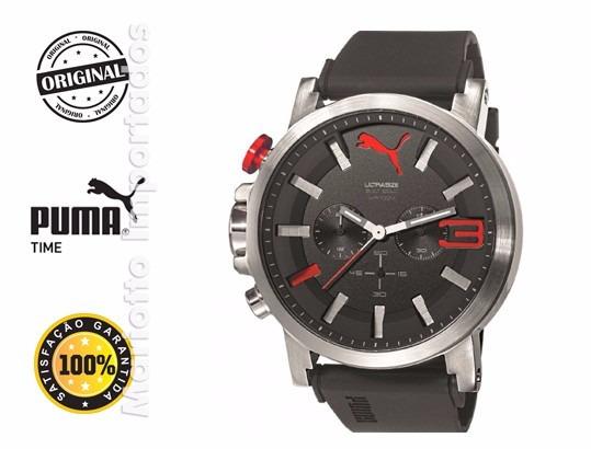 Relógio Puma Ultrasize 2 Vermelho - Pronta Entrega