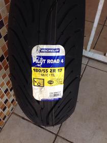 Pneu Michelin 180/55-17 Pilot Road 4 Frete Gratis