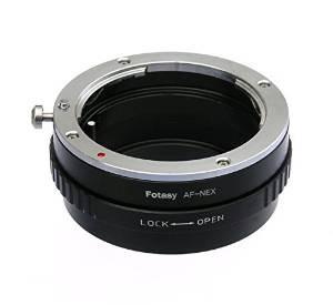 Fotasy Anaf Sony Minolta Ma Lente Af Para Sony Nex Adaptador