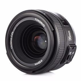 Lente Yongnuo Yn 35mm F2 Nikon Af-s Possui Motor De Foco