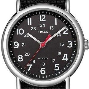 Timex - Relógio Masculino Analógico Pulseira Em Nylon E C...