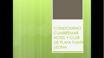 Lujoso Condo En Altos De Punta Leona 6 Personas 285 P/noche
