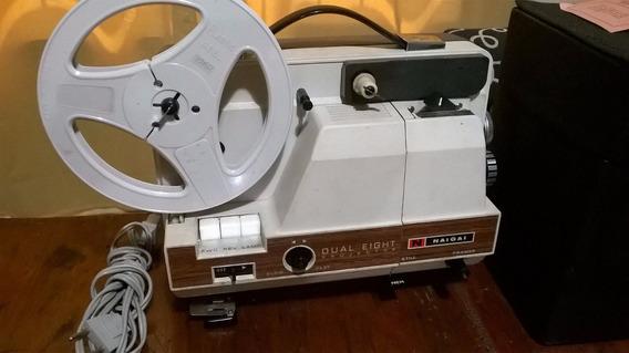 Proyector Antiguo De Pelìculas Naigai Funcionando Impecable
