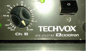 Amplificador Tip 2000 Ciclotron Conservadissima