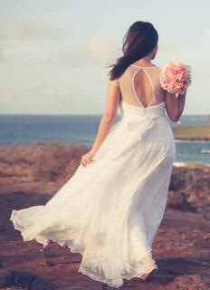 Vestido De Noiva Da Marca Pó De Arroz