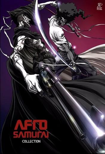 Afro Samurai Completo -- 05 Episódios + Filme Ressurrection
