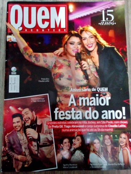 Revista Quem - Claudia Leitte - Preta Gil - Rafael Cardoso