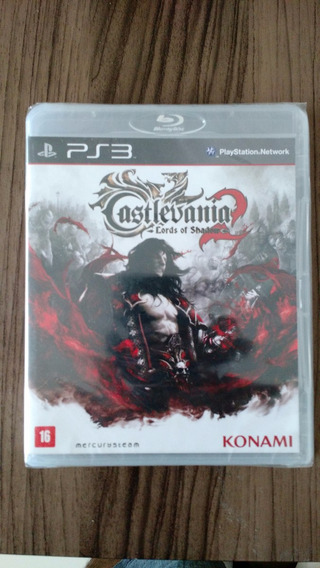 Castlevania 2 Lords Of Shadow 2 Ps3 Novo Lacrado Para Ps3