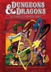 Poster Caverna Do Dragão D&d Rpg Desenho
