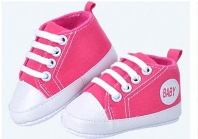 Tênis Cano Alto Pink - Tam. 17