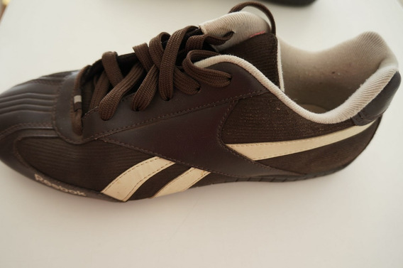 Zapatillas Reebok Marones (y Beige) Talle 39 - Casi Nuevas