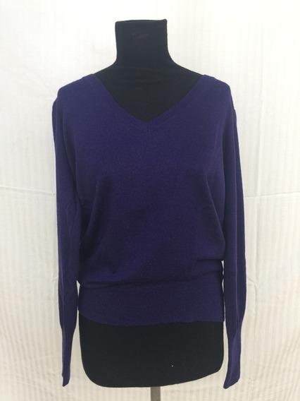 Sweater Banana Republic Color Ciruela Talle 21