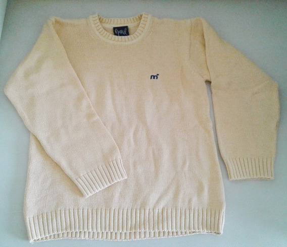 Sweater Hilo Mistral Talle 10 (medium) Color Maiz Impecable
