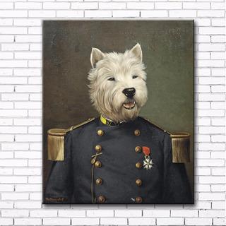 Lienzo Canvas La Vieja Guardia Poncelet 40 X 50 Cm Pintura