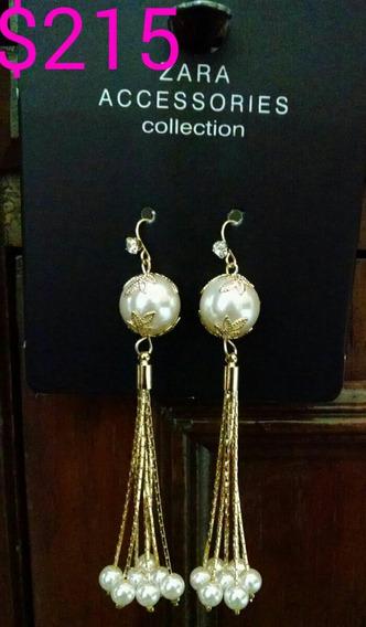Aretes Zara Originales Y Elegantes, Para Mujeres Especiales!