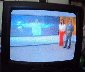 203 Prd- Tv Televisão Philco 14 Pol Mod Pcr- 1449- Funciona