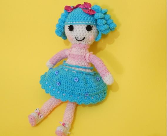 Amigurumi Boneca Lalaloopsy De Crochet