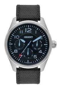 Relógio Orient Mbsnm002 Masculino Original Mostrador Preto