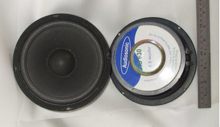 Par Parlantes Audiosonic As630 Usa,6.5 ,200 Wat, 6 Ohm