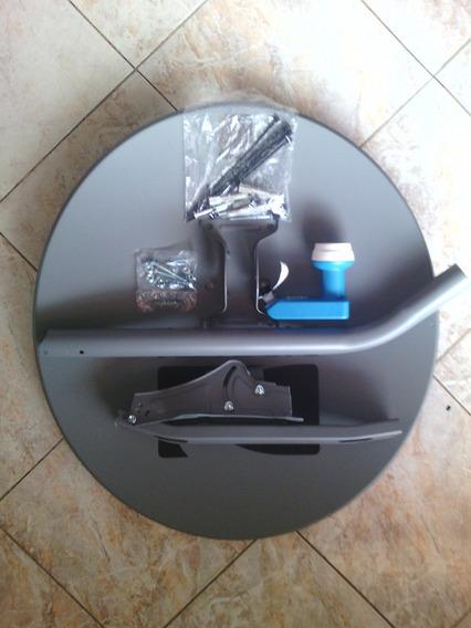 Antena De Disco Completa Directv (con Todos Sus Accesorios).