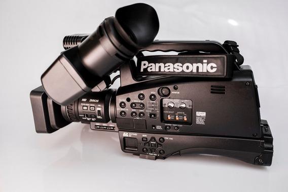 Filmadora Profissional Panasonic Muito Nova!filma Em Cartão.