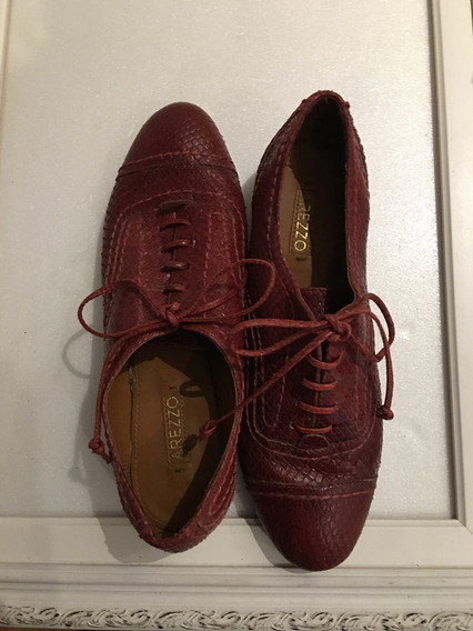 Sapato Com Cadarço Arezzo