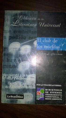 El Club De Los Suicidas - Robert L. Stevenson