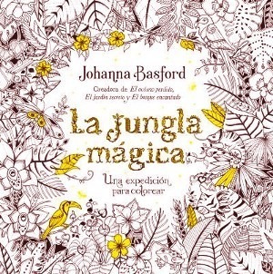 La Jungla Magica - Johanna Basford - Color Terapia