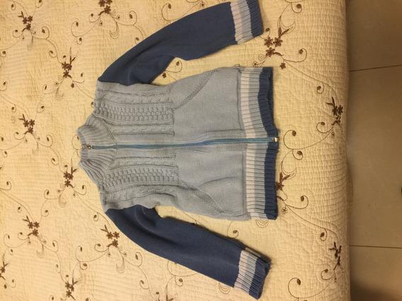Sweater Y Saco De Lana De Nene Talle 4