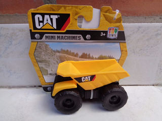 Tractor Cat Mini Maquinas Camion Originales