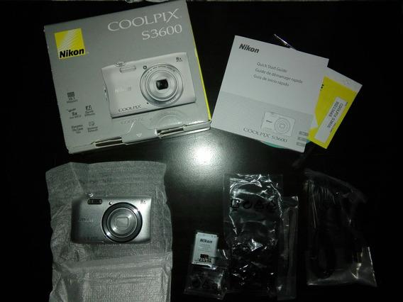 Camara Nikon Coolpix S3600